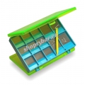 Krabička Doppio magnete 120/80/19mm